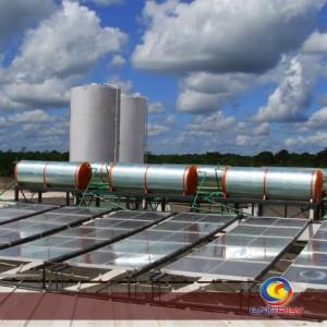 aquecimento solar industrial